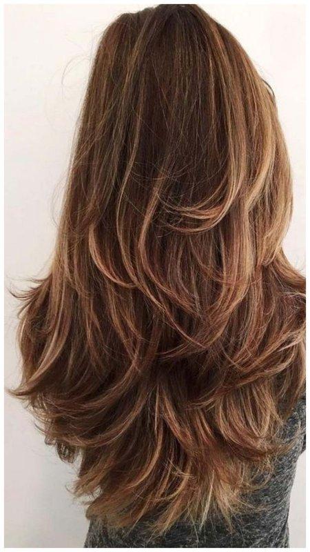 Срез волос лисий хвост вид сзади