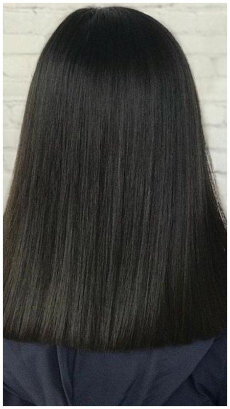 Волосы вид сзади