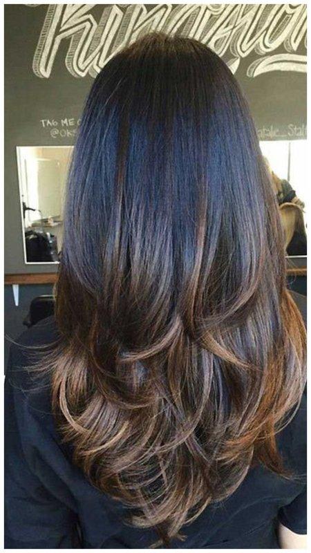 Красивые волосы вид сзади фото