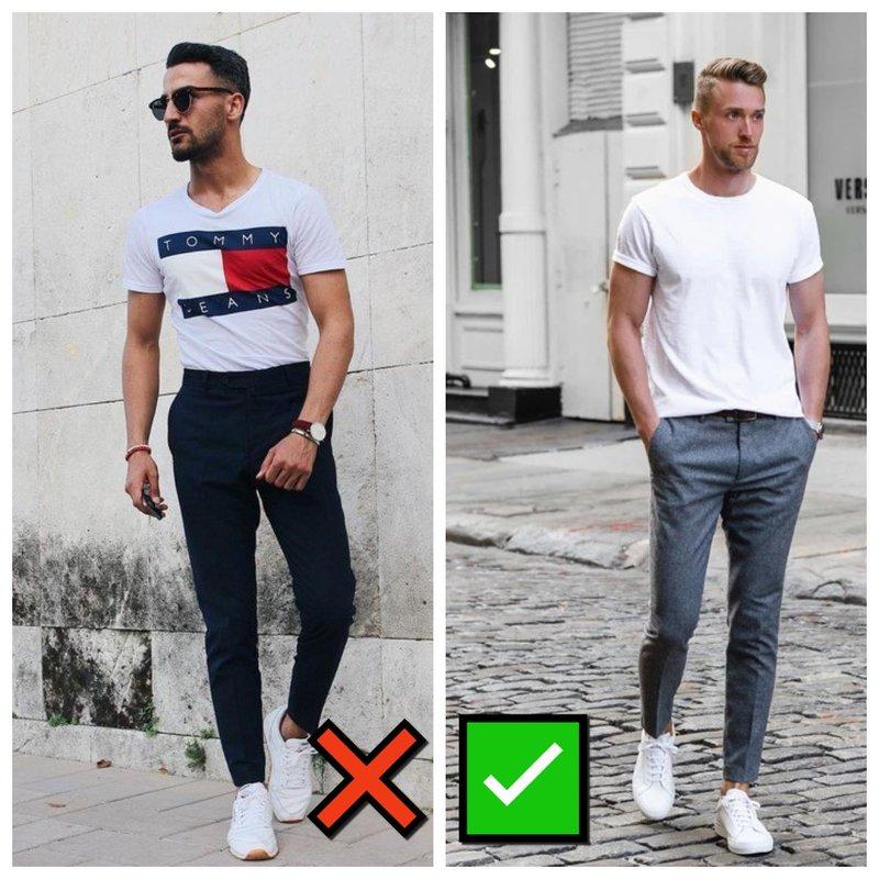 Как мужчине носить рубашку