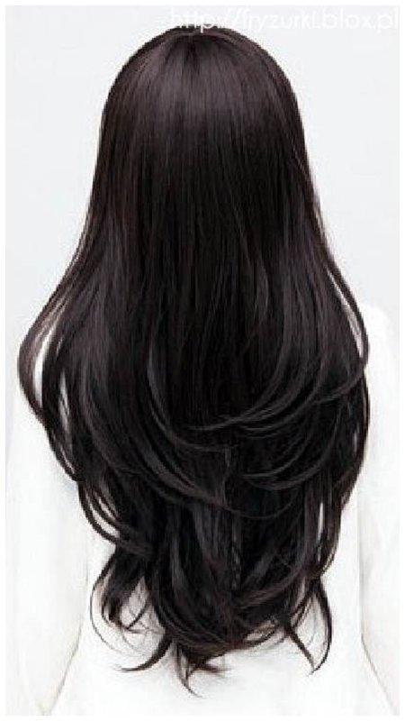 Срез волос - лисий хвост фото