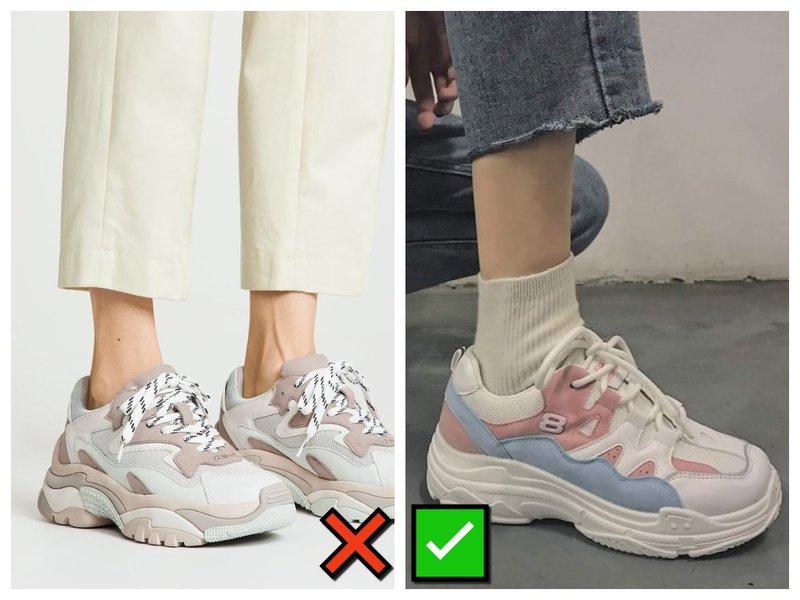 С какими носками носить кроссовки