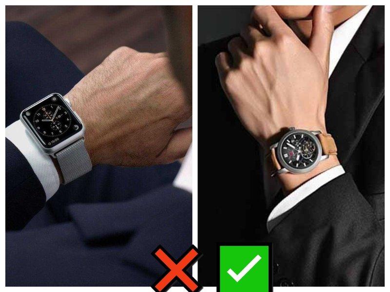 Какие часы носить мужчине