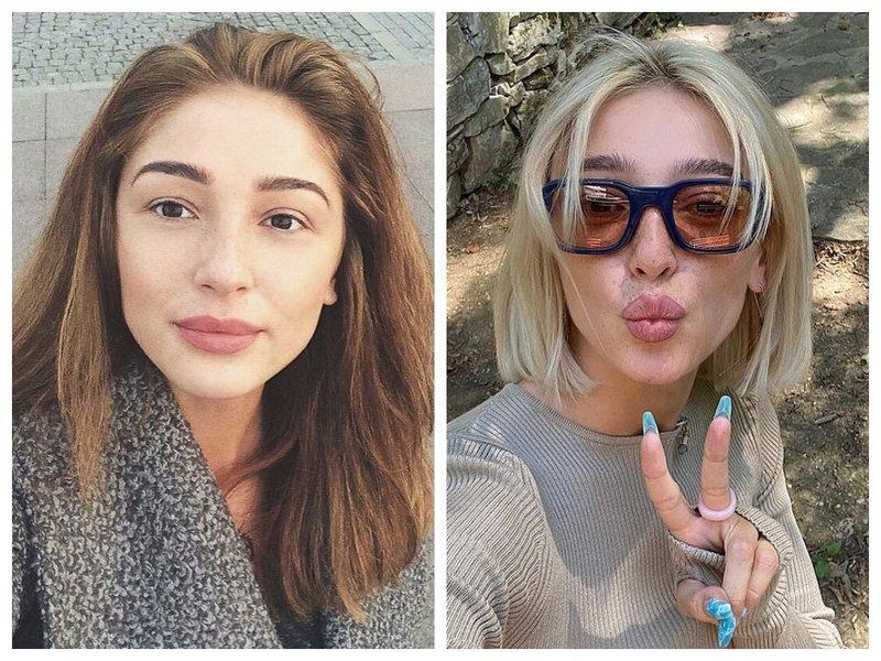 Настя Ивлеева до и после смены стилиста