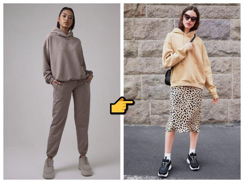 С чем носить худи в 2021 фото
