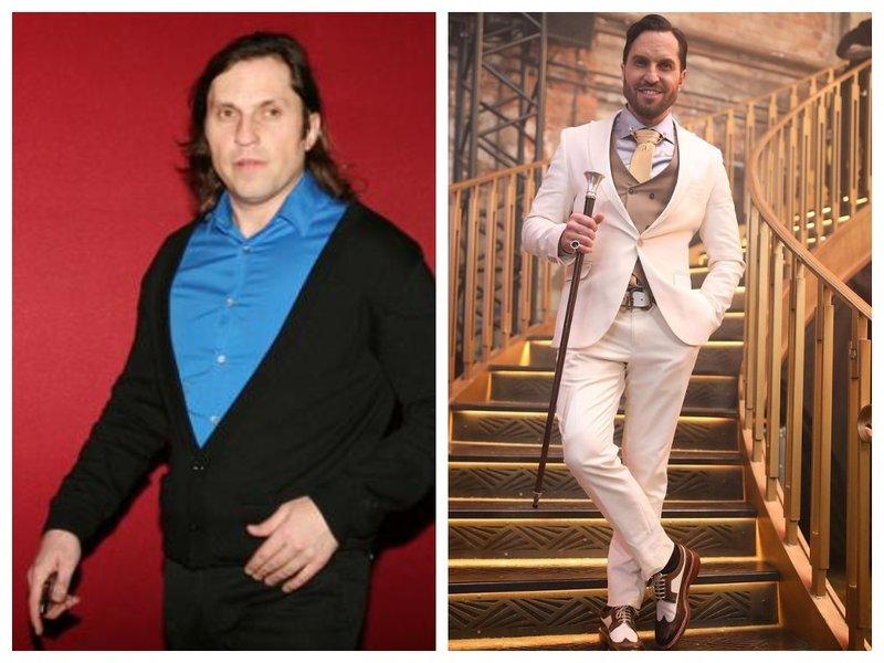 Александр Ревва до и после смены стилиста