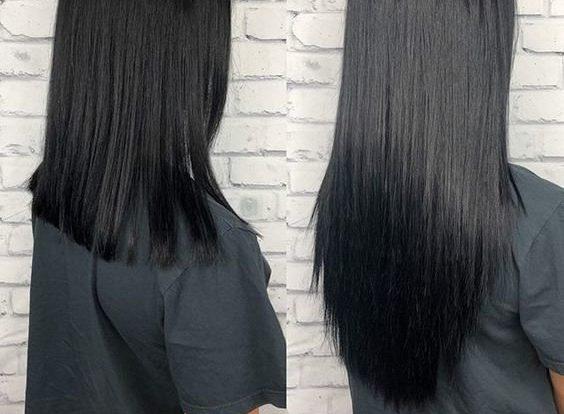Виды срезов волос