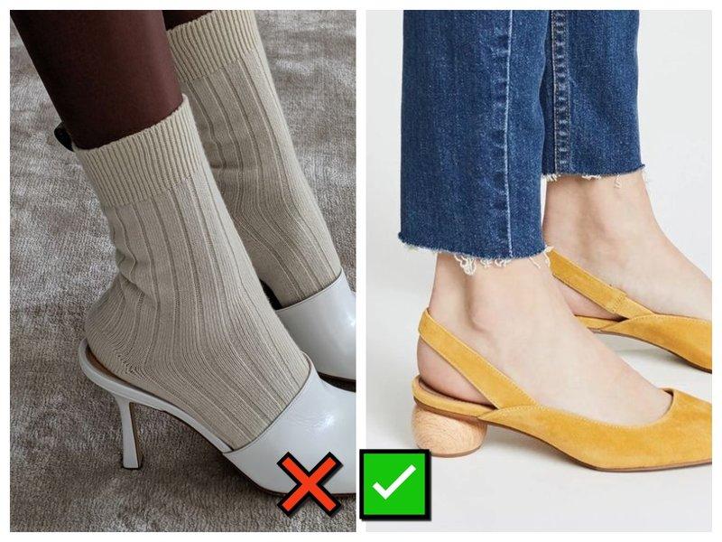 Носки и мюли фото