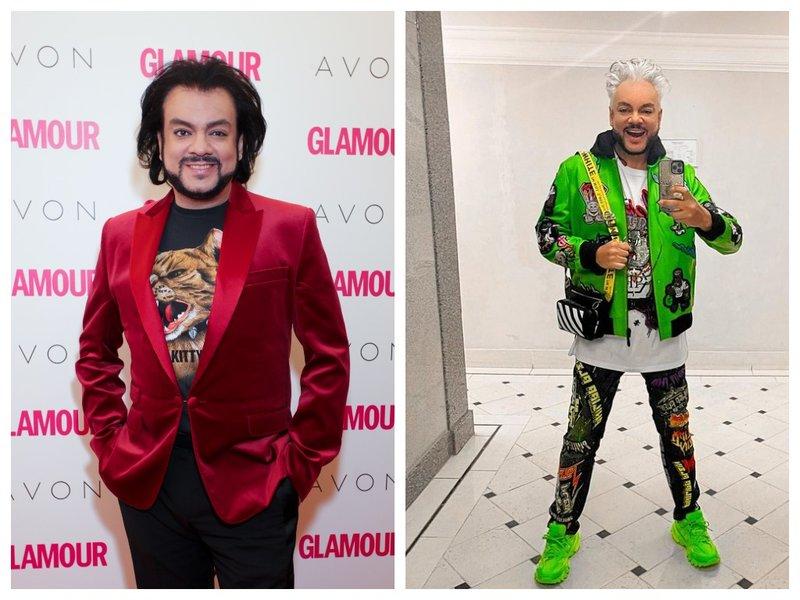 Филипп Киркоров до и после смены стиля