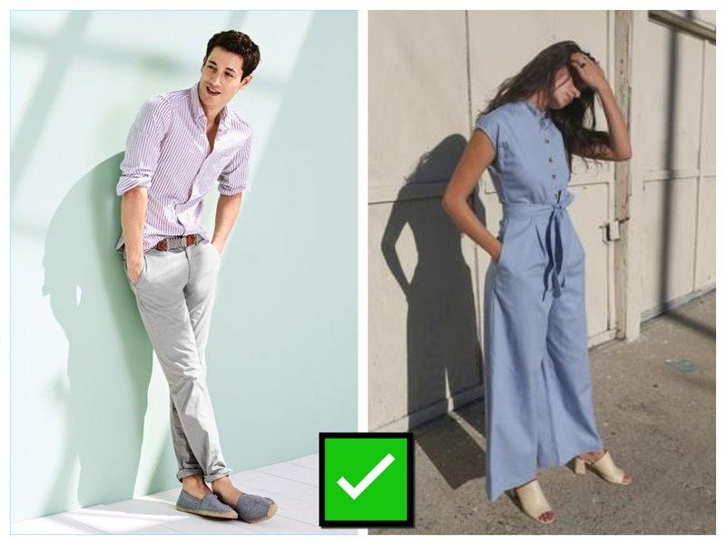 Как летом одеться парню и девушке
