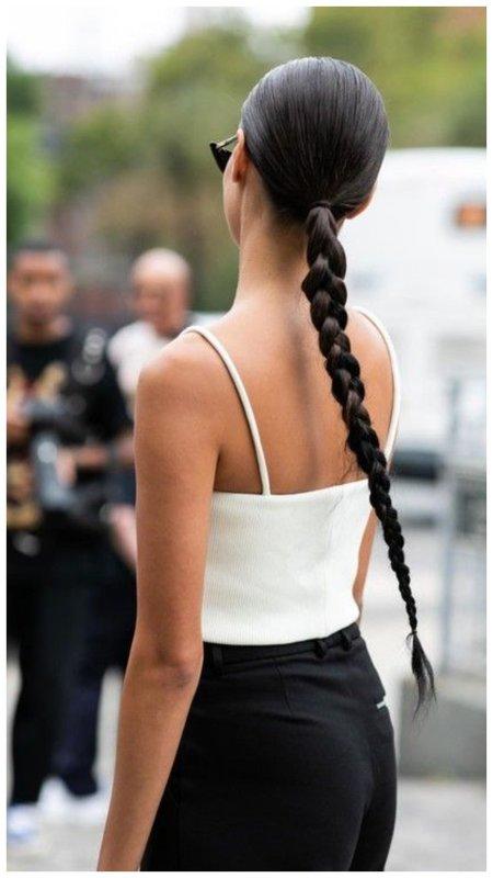 Как собрать длинные волосы летом