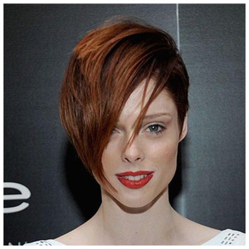 Рыжий цвет волос и пикси