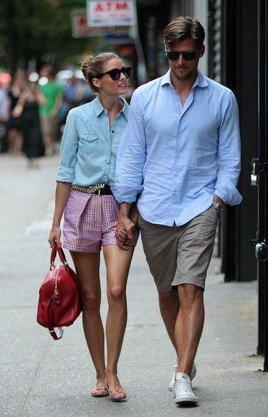 Как паре одеваться лето