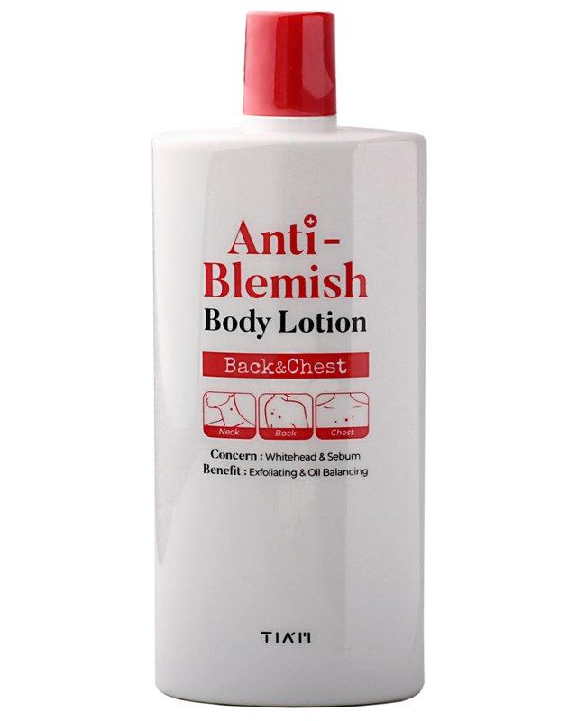 Anti Blemish лосьон для тела против высыпаний и акне от TIAM