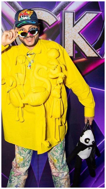 Киркоров в рубашке с фламинго