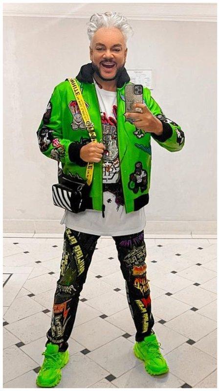 Киркоров в модном образе фото