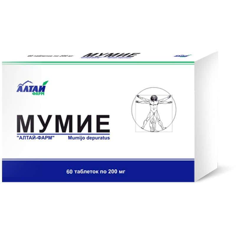 Мумие в таблетках для волос
