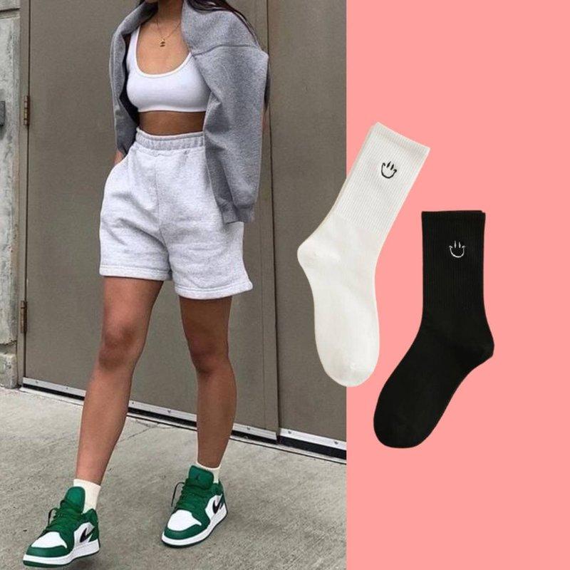 Образ с носками на лето