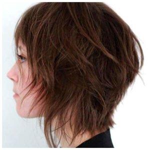 Оригинальная стрижка на короткие волосы