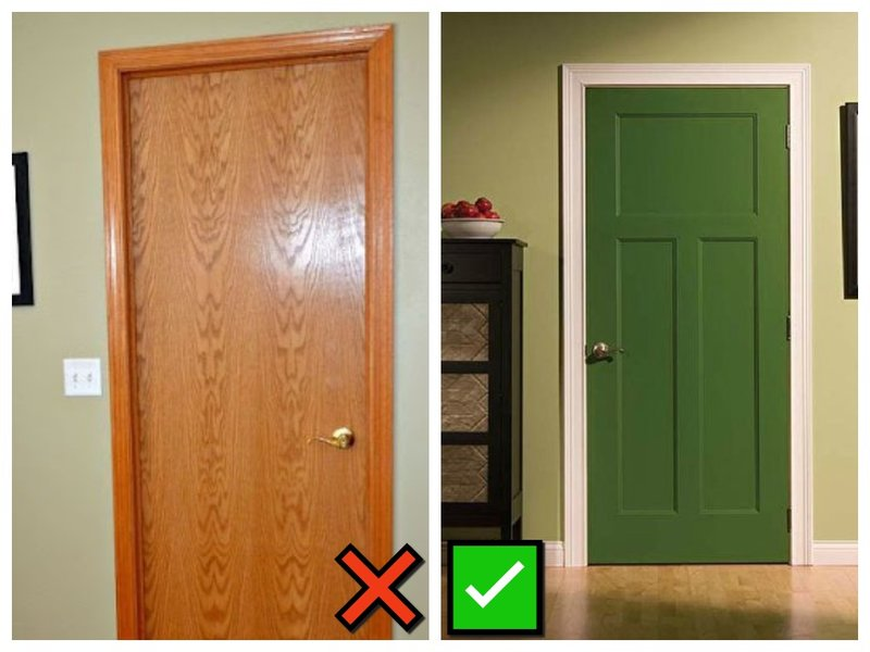 Старые двери в квартире