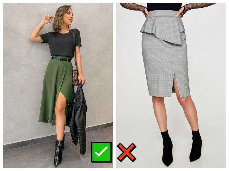 Какую юбку выбрать, чтобы скрыть живот
