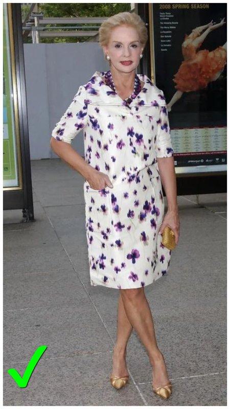 Как выглядеть женщине в 60+