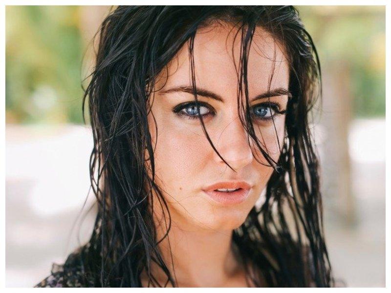 Мокрые волосы