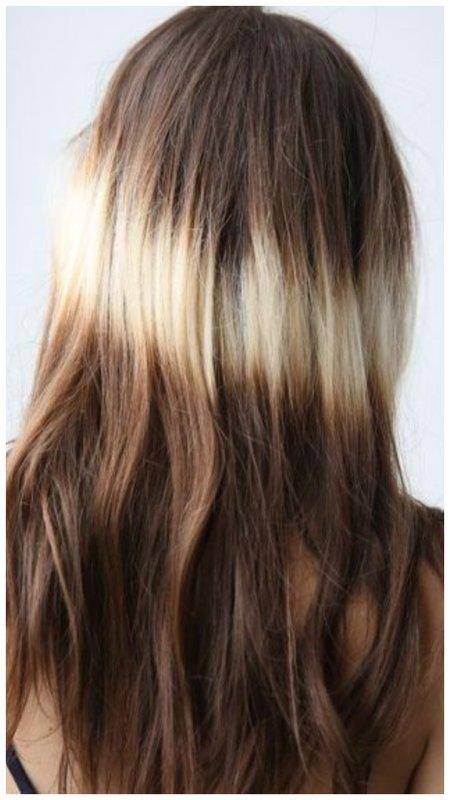 Как выглядит окрашивание волос сплэшлайтс