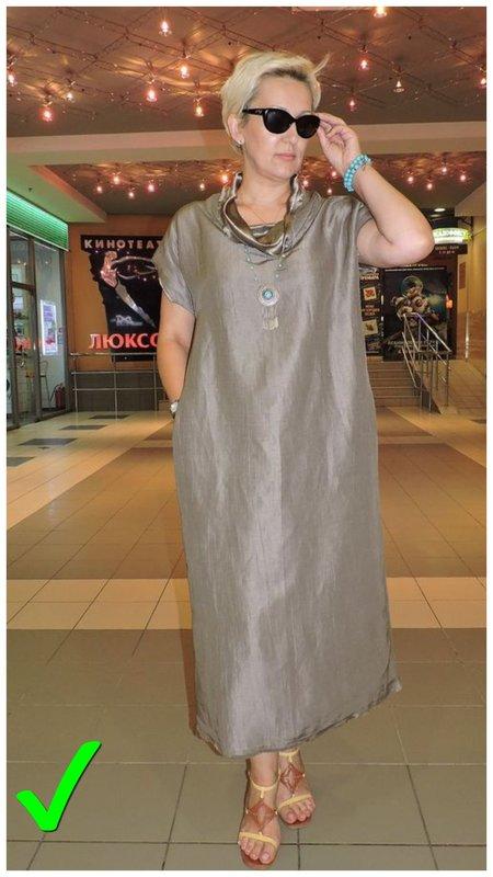 Модный образ для женщины 50+