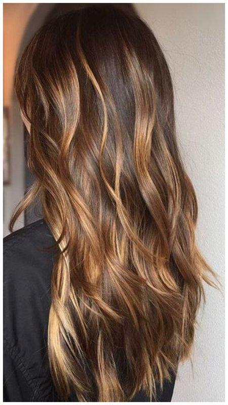 Как выглядит черепаховое окрашивание волос