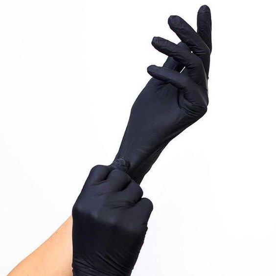 Перчатки для рук черного цвета