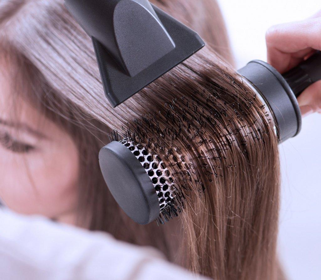 Сушка волос