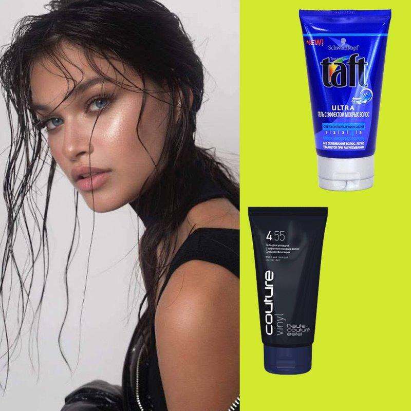 Гель для придания волосам мокрого эффекта
