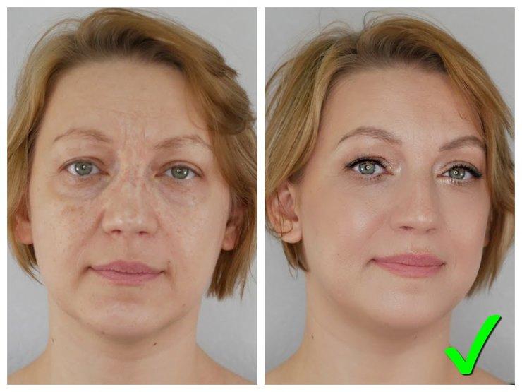 Ошибки взрослых женщин в праздничном макияже