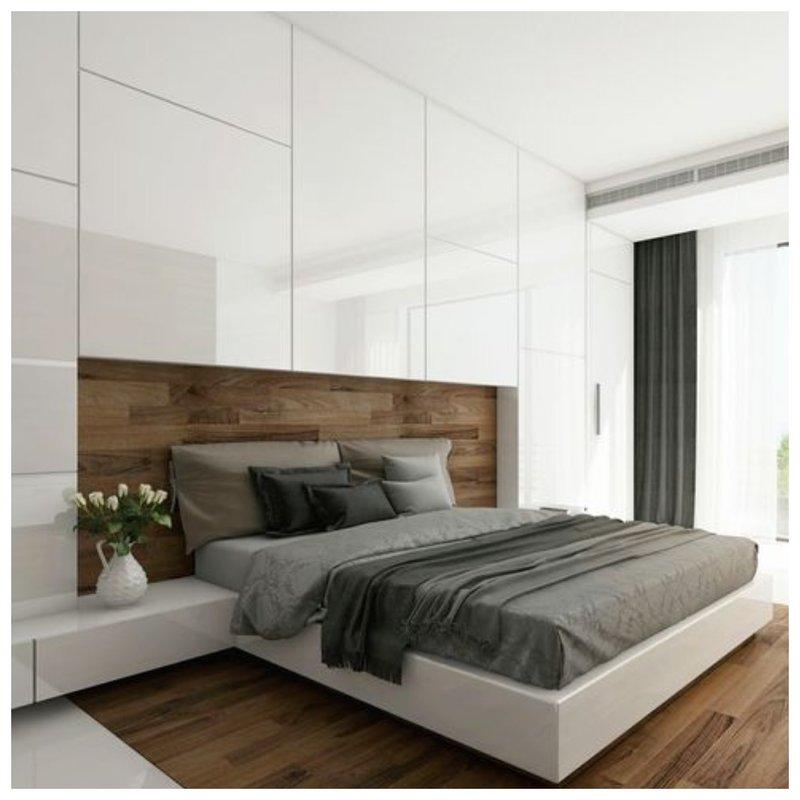 Скрытый гардероб в спальне