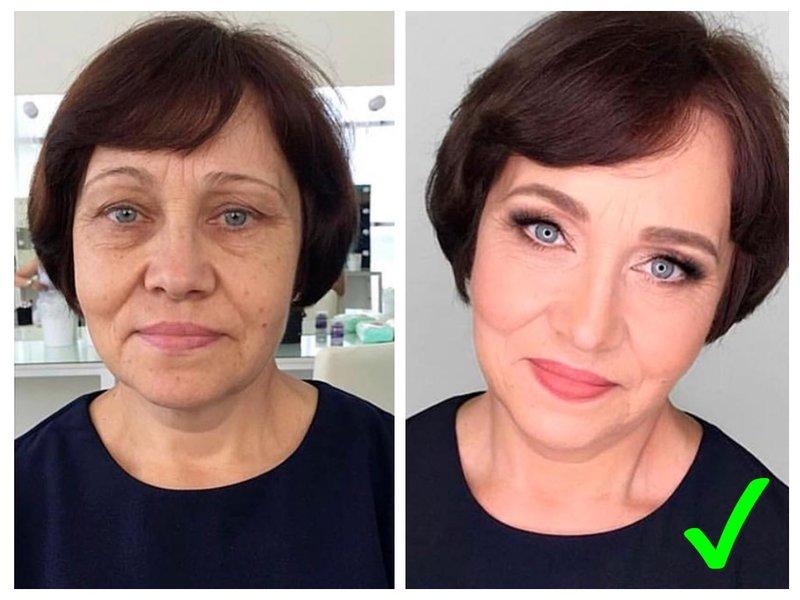Как краситься в 50 лет тренды