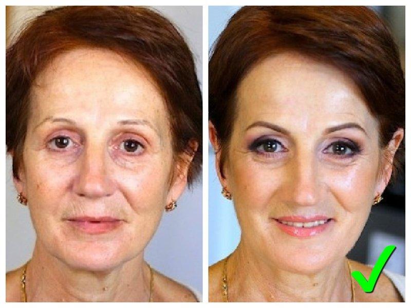Как накраситься женщине в 50 лет