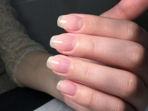 Длинные натуральные ногти