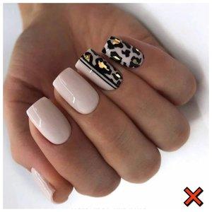 Леопардовые ногти