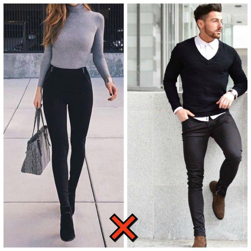 Как не стоит носить скинни в 2021 году