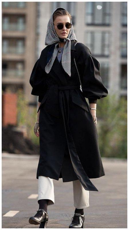 Как носить косынку модно