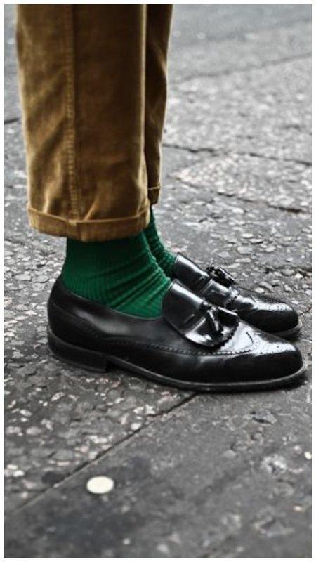 Яркие носки с туфлыми