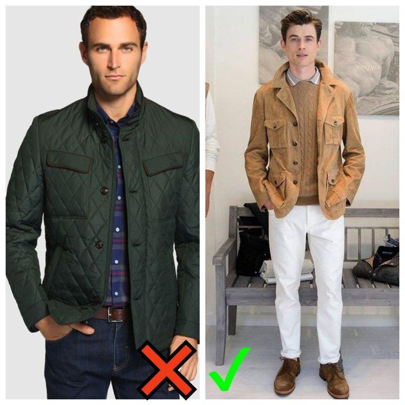 Модный мужской пиджак на осень