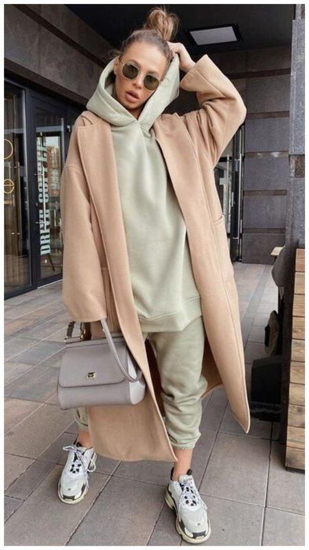Пальто и худи