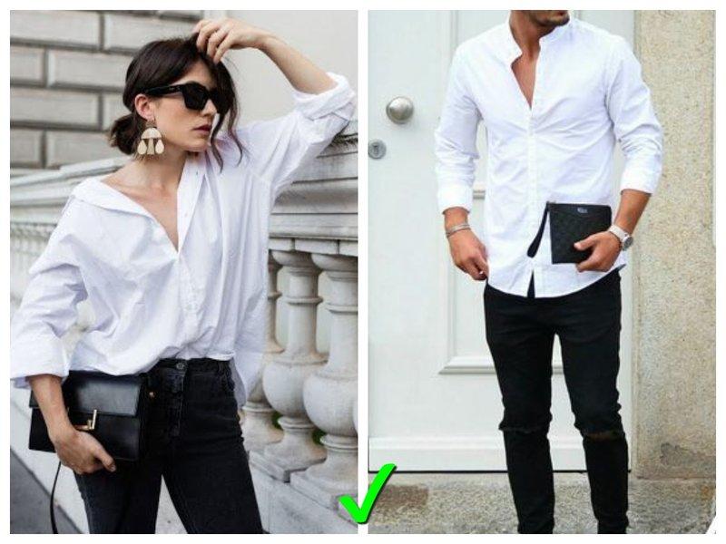 Рубашки свободного кроя примеры