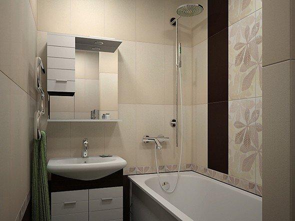 Обычная ванная комната