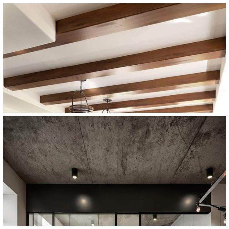 Дизайнерские решения для потолка
