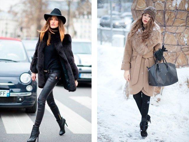 Зимние  модные