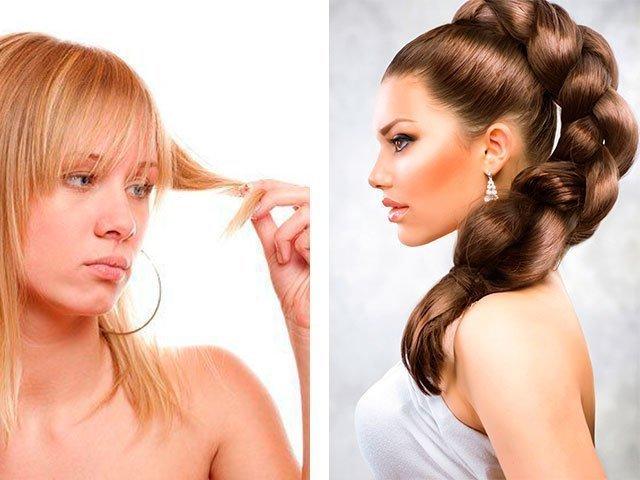 Какие витамины помогут от сечения волос