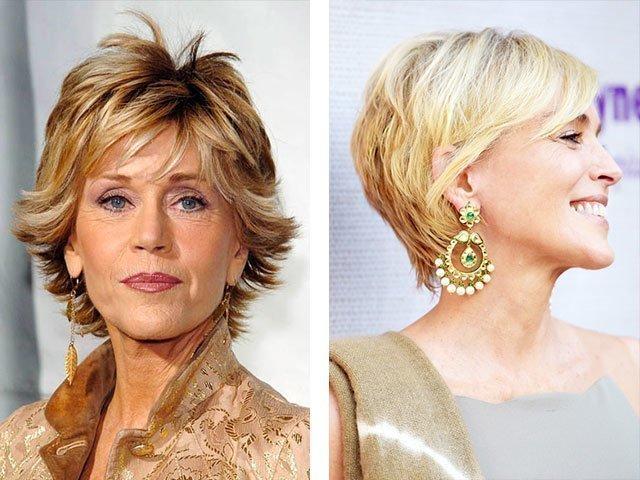 Короткие стрижки для женщин после 50